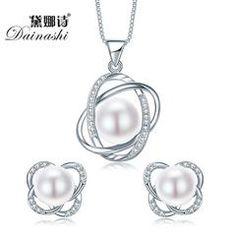 Trendy Cross 925 Sterling Silver Jewelry Sets