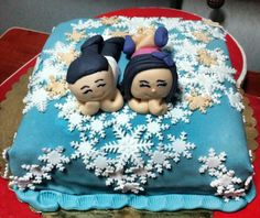 #pasta #cake #snow #blue #white #love