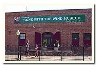 Gone With The Wind Museum (Marietta)--About 30 minutes north of Atlanta