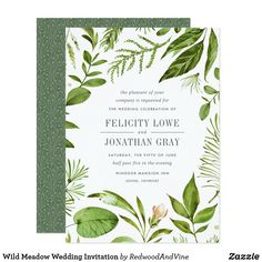 New Wedding Spring Diy Bridal Shower Ideas Forest Wedding Invitations, Botanical Wedding Invitations, Engagement Party Invitations, Bridal Shower Invitations, Invites, Invitation Text, Watercolor Invitations, Wedding Stationery, Elegant Bridal Shower