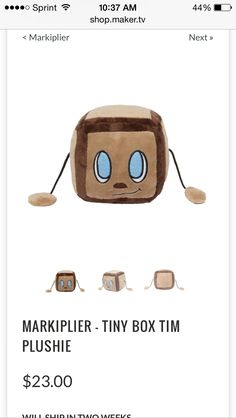 I WANT IT!!!! I WANT TINY BOX TIM!!!