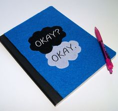 Okay Okay. Inspired by Fault in our Stars Embroidered by MTspaces, $10.00