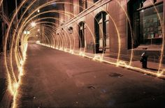 70s light painting by Eric Staller