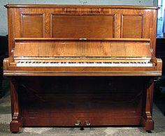 Antique Bechstein Model III Upright Piano
