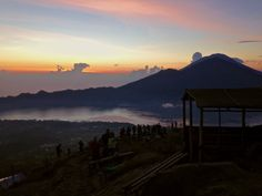 Before the sun came up... Mount Batur in Bali