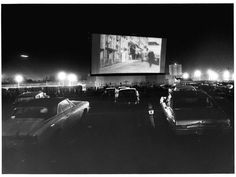 Drive-in movie theater on Sunrise Highway in Valley Stream (Jan. 17, 1972)  Credit Newsday/George Argeroplos