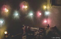 A ver cuanto duran esta vez... #lights #bedroom #photography #canon #CANON1100D #1100d
