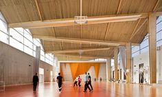 Lycée polyvalent Louise Michel - Intérieur du gymnase Archi5