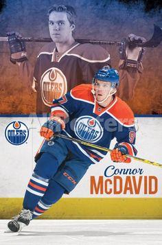 Edmonton Oilers- Connor Mcdavid People Poster - 56 x 86 cm