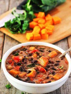 Black Bean Butternut Squash Stew