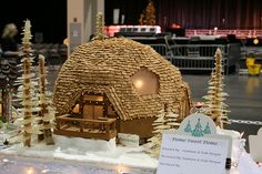 Open Floor Plan with a Distinctive Cookie Domed Roof | 14 Gingerbread Houses We Wish We Could Live In