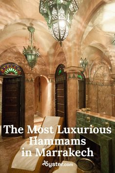 Visiting the hammam is part of daily life in the Islamic world, as it's a place to perform purifying ablutions prior to prayer. But they're also a central gathering spot for socializing within a community. It's no wonder, then, that a city like Marrakech should have some of the world's most lavish hammams solely for the purpose of pampering. Here's our picks for hotels where you're sure to have an over-the-top hammam experience.
