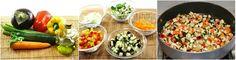 Cous Cous alle Verdure : peperoni, melanzane, zucchine, carote e chiodi di garofano per una pietanza sana, saporita e facile da preparare!!!