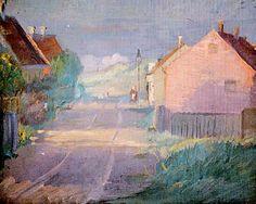 Anna Ancher - Straße in Skagen-Østerby