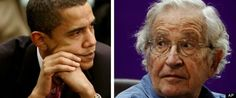 """MIT professor and widely renowned scholar Noam Chomsky said on Thursday that President Barack Obama is """"basically what would have been called several dec. Noam Chomsky, Sarah Palin, Left Wing, Figure It Out, Sociology, Barack Obama, Einstein, Presidents, Acting"""