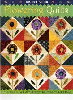 Flowering quilts - Ludmila Krivun - Picasa Web Albums...FREE BOOK AND PATTERNS!