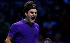 Roger Federer advanced to second round at Basel