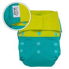 Hybrid Cloth Diaper Shell - Hook / Loop Closure | GroVia | GroVia