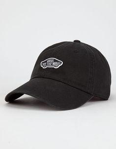 9a365401d38fc VANS Court Side Womens Dad Hat - BLACK - VN0A31T6BLK