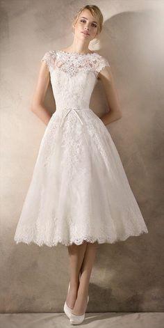 la sposa kurze brautkleider für 2017