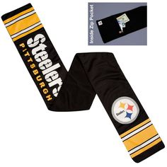 NFL Pittsburgh Steelers Jersey Scarf