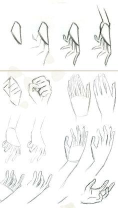 Anatomy Art, Anatomy Drawing, Manga Drawing, Hand Drawing Reference, Art Reference Poses, Anime Drawings Sketches, Pencil Art Drawings, Sketches Tutorial, Drawing Base