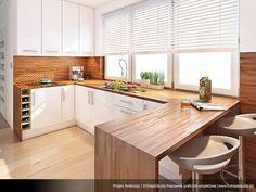 Modern Home Decor Kitchen New Kitchen Interior, Home Decor Kitchen, Kitchen Furniture, Home Kitchens, Kitchen Dining, Best Kitchen Designs, Modern Kitchen Design, White Wood Kitchens, Cuisines Design