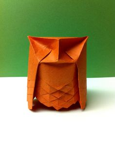 Hex Owl by Beth's Origami, via Flickr