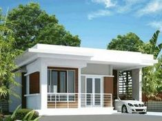 small house design inside with modern tiny house prefab with house paint brands for house plans modern - Best Home Interior Design Modern Bungalow House Design, Single Floor House Design, Modern Small House Design, Small House Exteriors, Duplex House Design, Simple House Design, House Front Design, Minimalist House Design, Cool House Designs