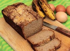 Chleb paleo bananowy (z mlekiem kokosowym), Paleo SMAK