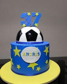 Boca Jrs Cake para Andres