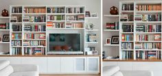 At Spaceworks, we uniquely design all media wall units and entertainment units used in Sydney to ensure that they are a perfect match for your space. Wall Shelves, Shelving, Media Wall Unit, Pure Home, Reception Rooms, Your Space, Alcove, Bookcase, Decorating Ideas