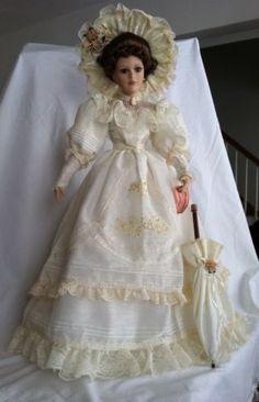 Show Stoppers Inc Florence Maranuk Collection Danielle Porcelain Doll | eBay