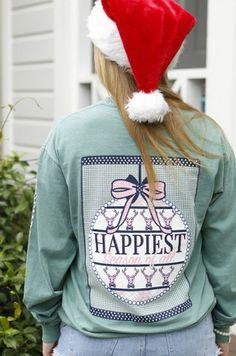 Happiest Season Of All - Long Sleeve #jlbcollegerep #jadelynnbrooke #preppypeoplearehappypeople