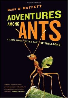 Adventures among Ants: A Global Safari with a Cast of Trillions by Mark W. Moffett - University of California Press - ISBN 10 0520271289 -… Good Books, Books To Read, My Books, Human Behavior, New Perspective, Amazing Adventures, Ants, Nonfiction, Safari