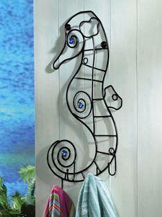 Sealife Towel Hanger