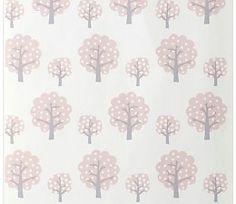 Ferm Living behang Dotty - roze