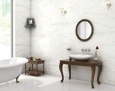 Statuario Venato (Wall Tile), Size : 300x900 mm, For more details click : http://nitcotiles.in/Tiles-Details.aspx?Application-Wall-500