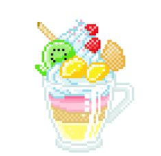 You are in the right place about Stitching icon Here we offer you the most beautiful pictures about the Stitching peluche you are looking for. When you examine the part of the picture you can get the Pixel Art Food, Food Art, Kawaii Doodles, Kawaii Art, Foto Top, Pix Art, Panel Art, Cute Icons, Character Concept