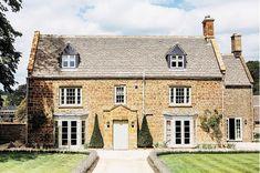 Exterior of Soho House's new farmhouse in Oxfordshire