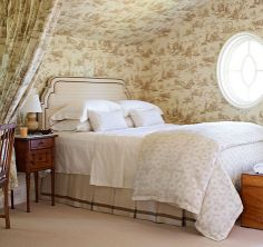 Lovely Small Bedrooms - Traditional Home® Interior Design Phillip Sides, photo by Tria Giovan