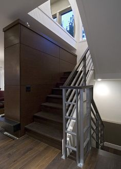 Metal Railing Stairs Design Ideas, Pictures, Remodel and Decor