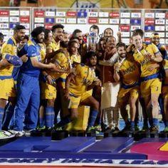 Jaypee Punjab Warriors crowned HIL champions #melbourne