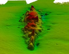 One of the largest naval battles of WWI re-envisioned. New 3D scans have emerged showing the final resting place of a German Flagship. Looking like a small ridge at the bottom of the North Sea these images actually show SMS Lützow, Admiral Franz von Hipper's Flagship, scuttled during the Battle of Jutland in 1916. The images were captured by the Royal Navy survey ship HMS Echo which has been visiting Jutland.