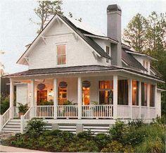 BHG Serenbe House -- Lattice, dormers, soffit