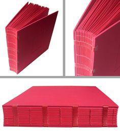 """Álbum de fotos ou """"big red book"""" by Zoopress studio"""