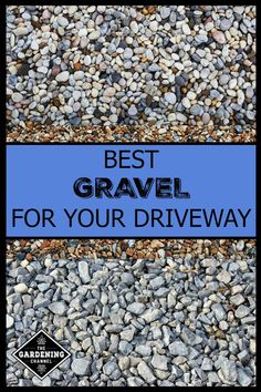 Best Types of Gravel for Driveways 2019 Gravel driveways are an affordable option upfront. Learn how to install a gravel driveway and which gravel works best. The post Best Types of Gravel for Driveways 2019 appeared first on Backyard Diy. Best Gravel For Driveway, Rock Driveway, Driveway Entrance Landscaping, Driveway Edging, Diy Driveway, Gravel Walkway, Asphalt Driveway, Driveway Landscaping, Landscaping Ideas