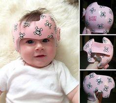 peintures sur casques de bebes paula strawn 10 Peintures sur casques de bébés par Paula Strawn tête plate plagiocephalie photo peinture ...