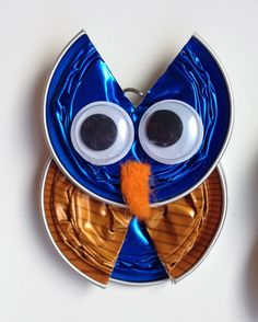 See related links to what you are looking for. Fall Crafts, Diy And Crafts, Christmas Crafts, Crafts For Kids, Arts And Crafts, Dosette Nespresso, Cup Art, Coffee Pods, Animal Crafts