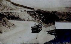 Summit Topanga Canyon,San Fernando Valley View,California.